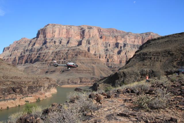 Grand Canyon in giornata da Las Vegas con giro in elicottero