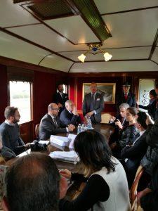 Conferenza stampa inaugurazione Treno storico a Vapore tra Torino e Canelli