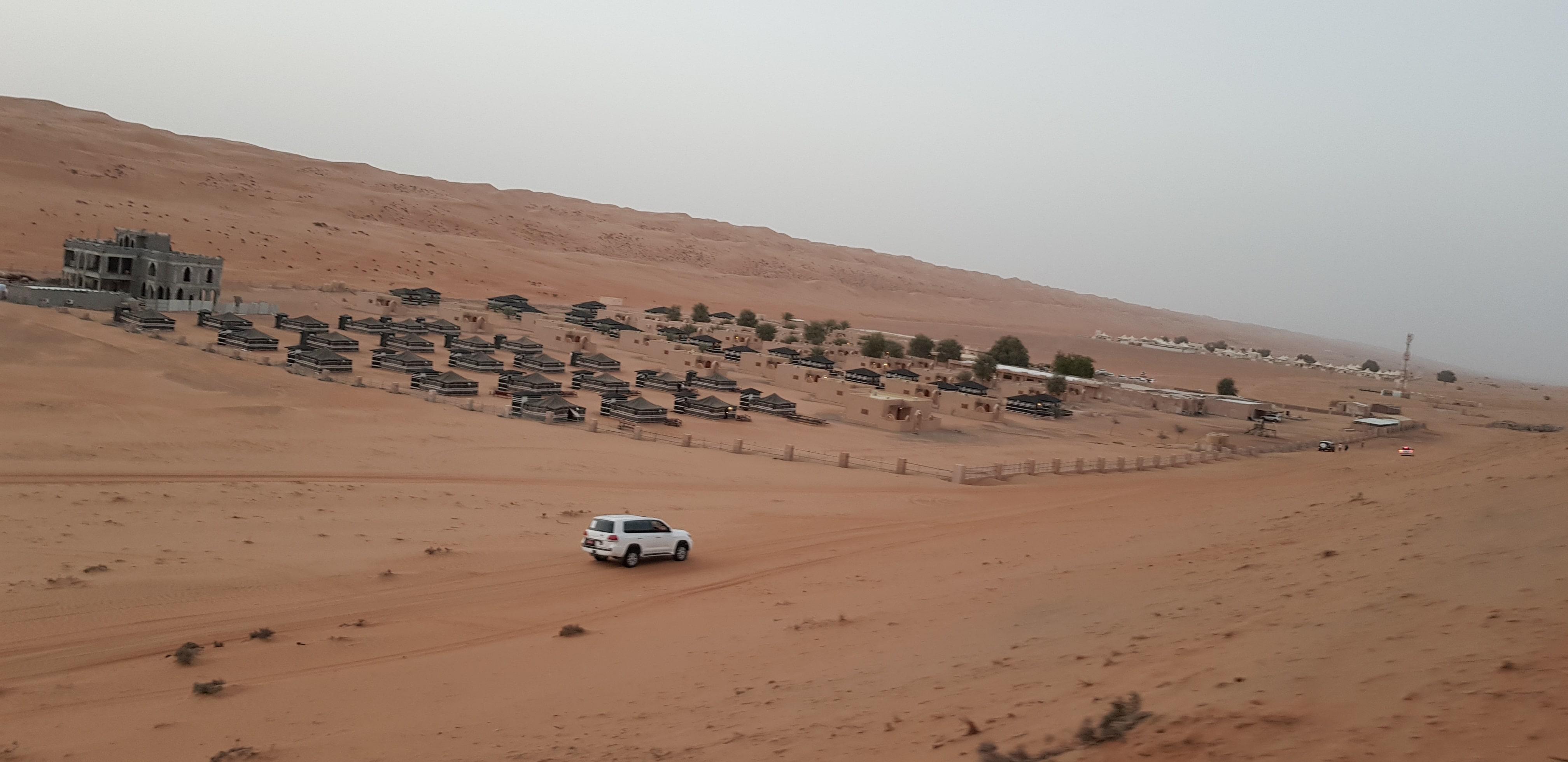 Il campo tendato Arabian Oryx Camp, Al Wasil, Wahiba Sands