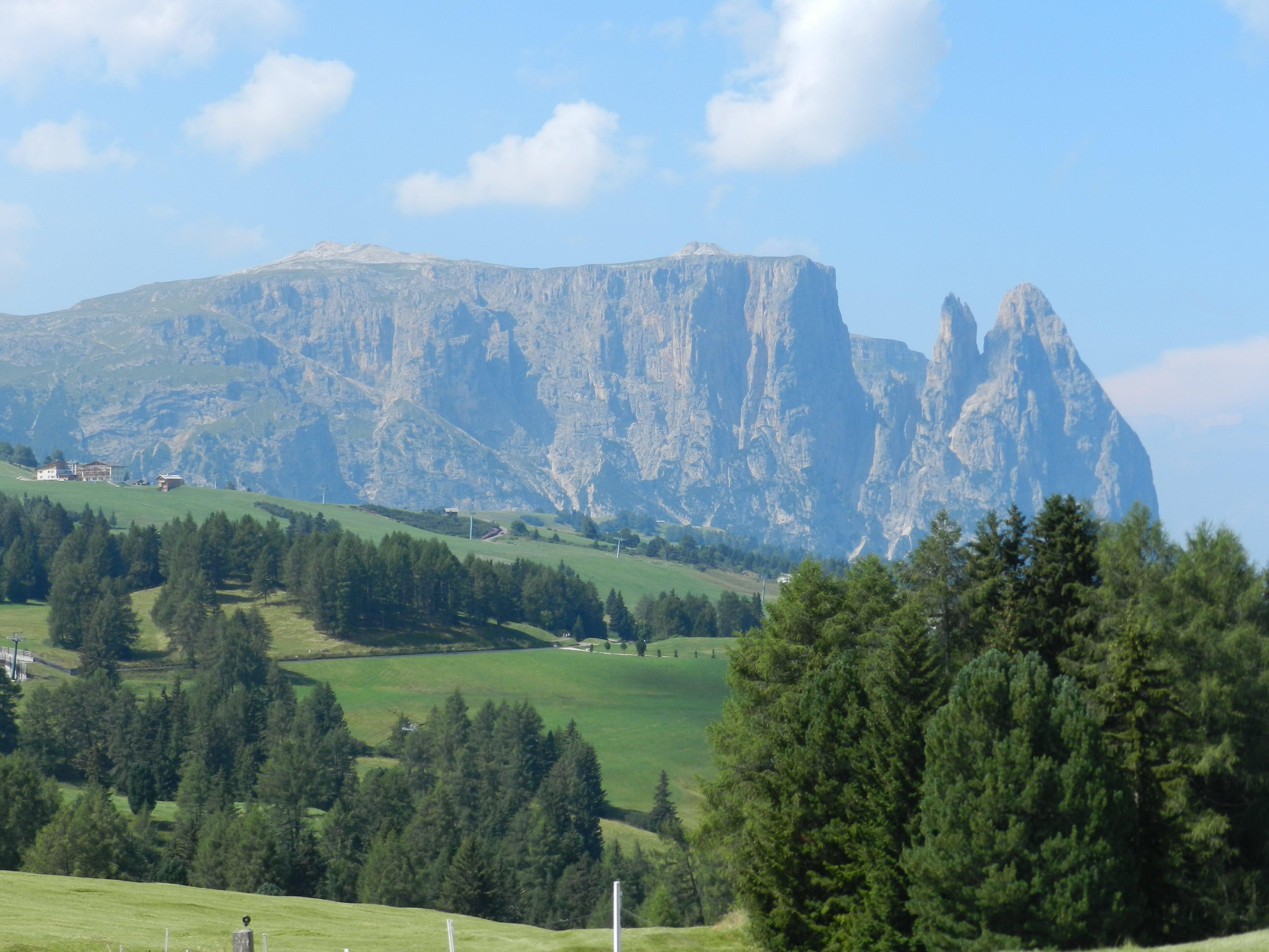 Alpe di Siusi, Massiccio Sciliar