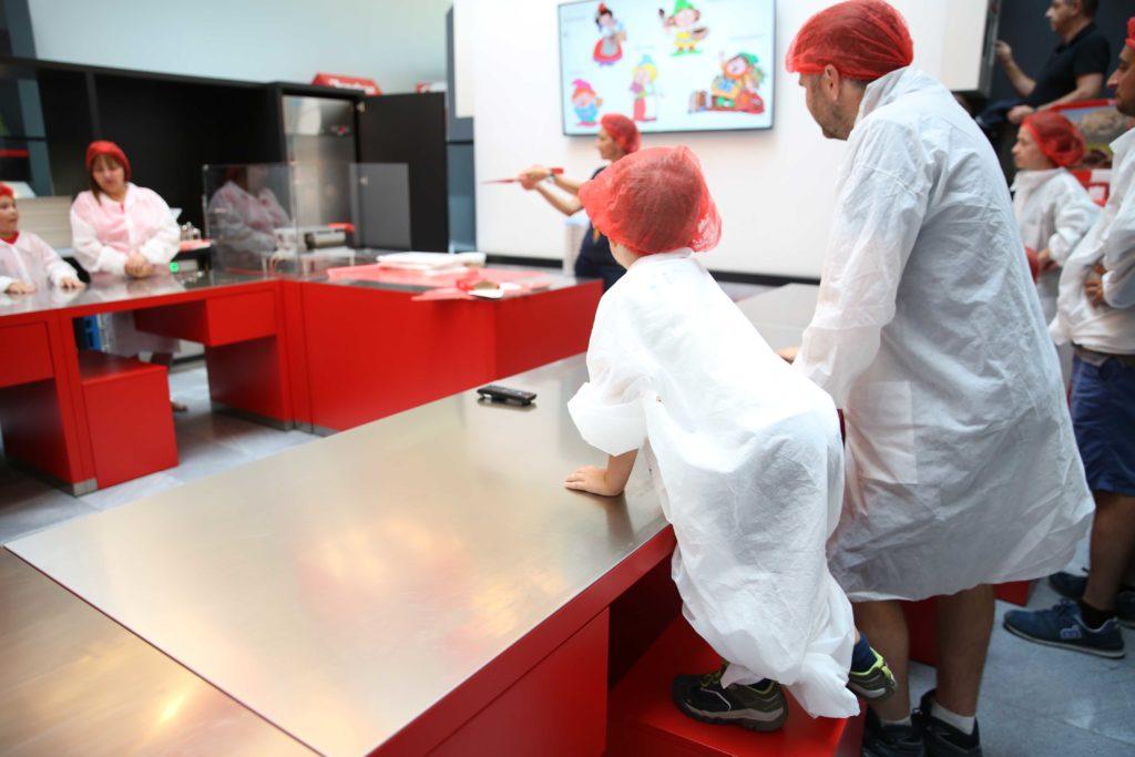 Laboratorio di pasticceria interattiva Loacker