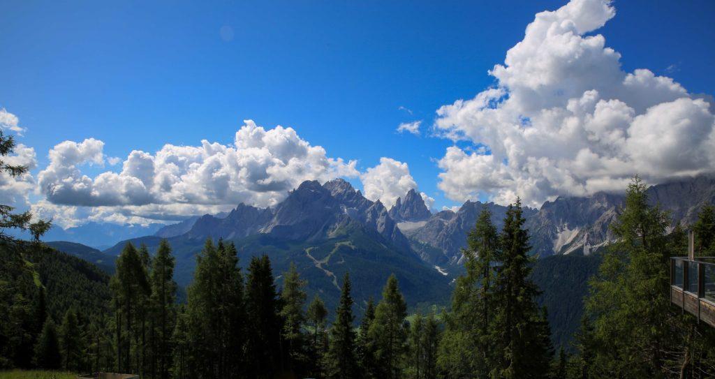 Panorama dal Monte Elmo