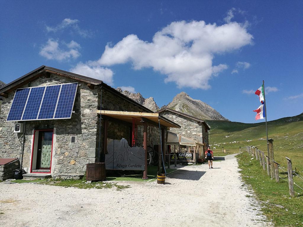 Rifugio Gardetta in Valle Maira