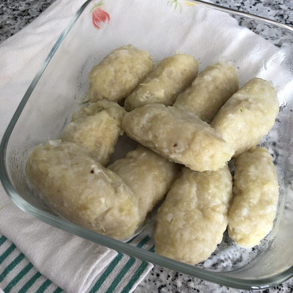 cajette di patate