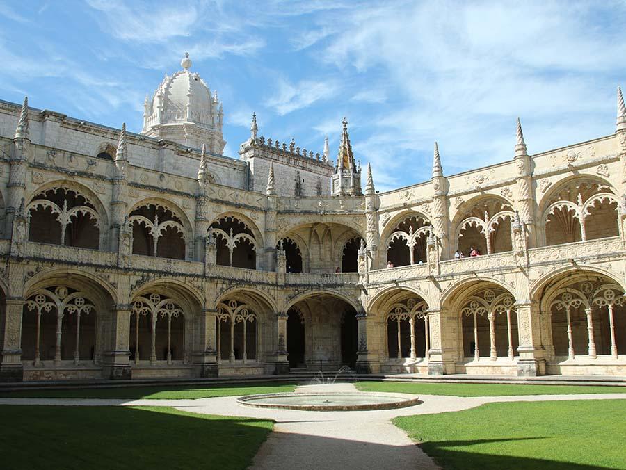 Mosteiro dos Jeronimos Belem Lisbona