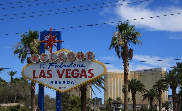 Welcome to Fabulous Las Vegas - il cartello di ingresso alla città