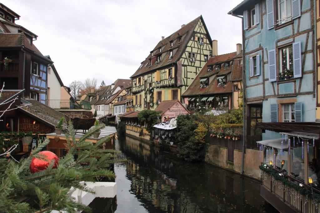 I canali della Petit Venice, quartiere di Colmar