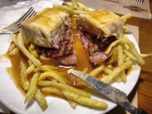 Francesinha il panino di Porto